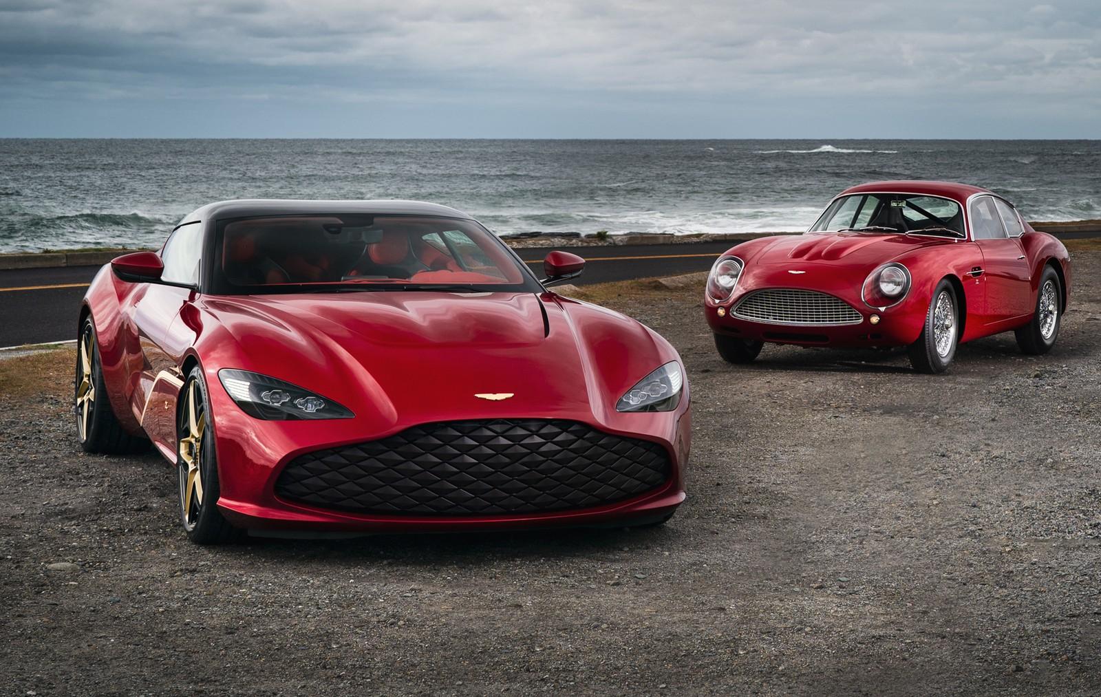 Aston Martin Revela Novo Dbs Gt Zagato Com 760 Cavalos E Acabamentos De Ouro Grupo Photon